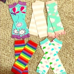 Leg warmers for baby and toddler